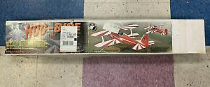 "SIG HOG-BIPE 54.5"" Span Balsa RC Airplane Classic KIT RC-69"
