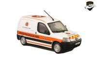 PEUGEOT PARTNER 1 2000 - Voiture Protection civile de Paris - 1/43 ELIGOR 101572