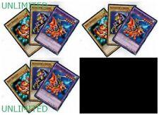 9-Cards: 3 Sets of  Alligator's Sword Dragon Fusion_Baby Dragon YUGIOH LDK2