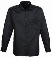 Mens Long Sleeve Shirt - Smart Casual Business Work Office Formal Wear