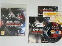 Tekken Tag Tournament 2 Sony Playstation 3 PS3 16+ Fighting Game VGC
