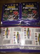 Panini Football 2017 Stickers 50 Sealed Packets