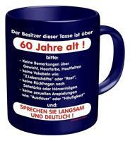 60 Jahre alt Tasse - Geburtstag Geschenk - Premium Kaffeetasse, Becher 320ml OVP