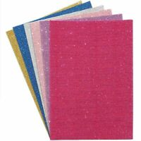 30x Glitter Cardstock Paper Sparkle Shinny Sheets for DIY, Crafts 8 x 11 In
