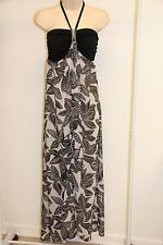New Dotti Swimwear Cover Up Dress Size XS Black WHT