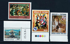 1984 Wallis & Futuna Islands SC C136 C137 C138 C141 - MNH, Air Post Lot of 4*