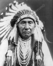 Chief Joseph Indian 1900s Vintage 8x10 Reprint Of Old Photo