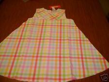 NWT Gymboree Spring rainbow gingham twirl dress 5 5t