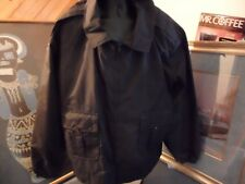 Horace Small Police Security Jacket - Size 3XL Black Brand New