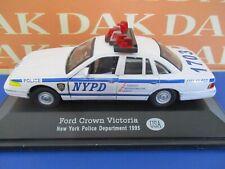 Die cast 1/43 Modellino Auto Polizia Police Ford Crown Victoria New York 1995