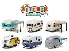 1:64 GreenLight 2017 *HITCHED HOMES #1* COMPLETE SET 6 CAMPER TRAILERS Hitch Tow