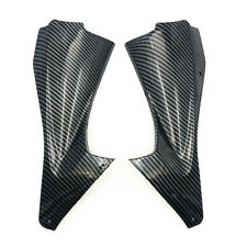 Side Air Duct Cover Fairing Insert Part For Yamaha YZF R6 2006 2007 Carbon Fibre