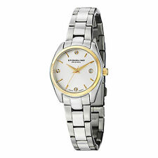 Stuhrling Original Women's 414L.03 Classic Ascot Prime Swiss Quartz Date Watch