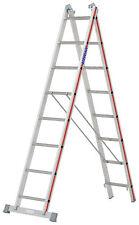 Mehrzweckleiter 2x8 Spr. L2,32-4,00m Steh- Schiebe- Anlegeleiter Hymer 404516