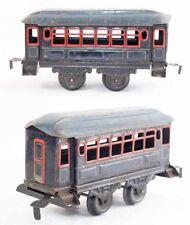 Train echelle O BING VOITURE BLEUE / 2 / jouet ancien