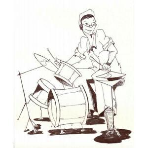 """Remo EN-0308-BD - Peau Weatherking Diplomat Transparente 8"""" pour Tom"""