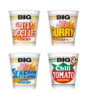 Nissin, Cup Noodle Big Series, Ramen, Basic, Curry, Seafood, Tomato,  Japan