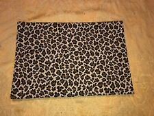 Nobility Placemats Animal Print Set of 4 Black Brown