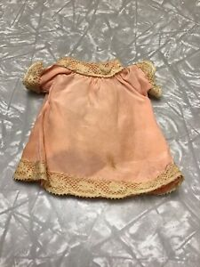 Vintage Doll Dress Ideal Vogue Bisque French German Victorian Small