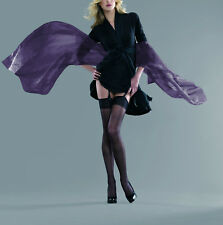 Charnos Elegance Ultra Sheer Stockings Black Large