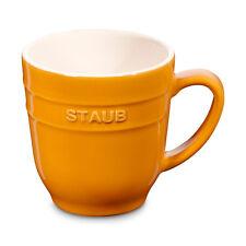 Staub Keramik Becher Kaffeebecher Kaffeetasse Glühwein-Tasse Schokotasse 0,35L