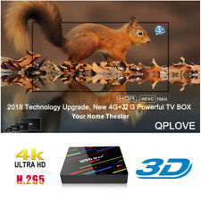 H96MAX+ Smart TV Box 4GB 32GB Quad Core RK3328 4K 3D Media Android 8.1 USB3.0 US