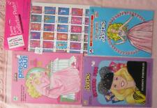 Barbie Trading Cards Poster,Jewel Secrets ColoringBook,StickerFun Press-Out Book