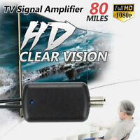 6611 TV Signal Amplifier Booster Digital HD For Cable TV Box Antenna HD Channel