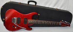 Kramer Focus 2000 Electric Guitar Floyd Rose Tremolo Metal Red 1980's Japan MIJ
