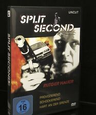 Split Second DVD Rare Rutger Hauer 90s Action Horror Non-U.S. Region 2 Disc READ