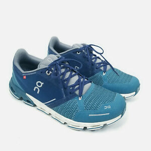 On Cloud Swiss Engineering CloudTec Running Shoes Womens Size 10 Blue