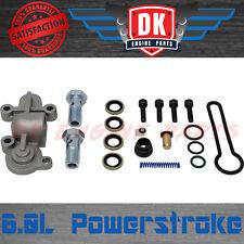 Ford 6.0L Powerstroke Fuel Pressure Regulator Blue Spring Upgrade Kit WITH BANJO