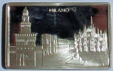 Lingottino d'argento Duomo di Milano proof splendidi dettagli Silver non comune