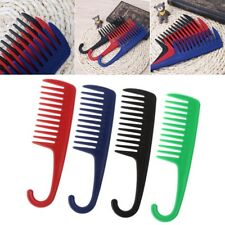 Anti-Static Shower Comb Detangling Wide Tooth Hair Comb For Applying Conditioner