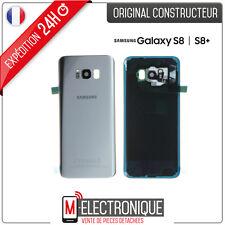 Vitre arrière Silver Original Samsung Galaxy S8+ G955