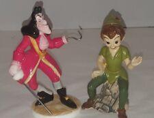 Vintage Disney Peter Pan Villain Captain Hook Ceramic Figurine