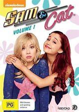 Sam & Cat : Vol 1 (DVD, 2-Disc) Nickelodeon - R4 - New & Sealed - Ariana Grande