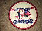 Boy Scout BSA Alamo Area Council Texas Longhorn 1986 Cub Northwest 1836 Patch
