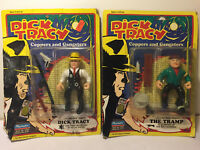 PLAYMATES~ DICK TRACY AND THE TRAMP ACTION FIGURES