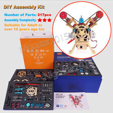 DIY Assembly Engine Model Kit Physics Educational Motor Hobbyist Collection Gift