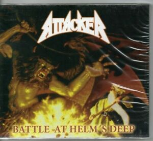 ATTACKER - Battle at Helm´s Deep CD plus Bonus neu