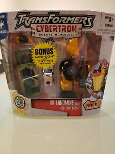 Transformers Cybertron Landmine with Dirt Boss Walmart Exclusive MISB