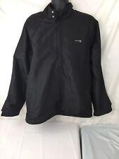 Champs Wind Half Zip Golf Jacket Mens XL Black