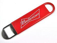 Großer Budweiser Bier USA Beer Flaschenöffner Bar Tool Öffner Opener rot