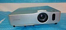 Hitachi CP-X200 Projector XGA Conference Room Projector 2 LAMP HRS
