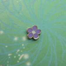 Enamel Flower - Purple