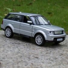 "Range Rover 5"" Model Cars Alloy Diecast Pull back function Kid Gifts SilverToys"