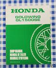 BB 67MN530W Manuale Officina Supplemento Honda Goldwing GL 1500 SE M stampa 91