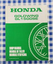 BB 67MN530W Manual De Taller Suplemento Honda Goldwing GL 1500 SI M impresión 91