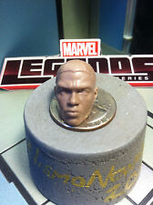"Marvel Legends civil-war Chadwick Boseman (Black Panther unmasked) 6"" head cast"